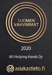 Suomen vahvimmat yrityslogo